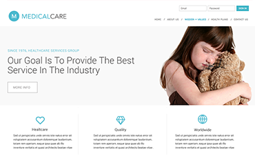 Medical Care Web site