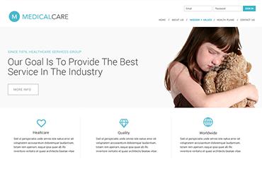 Medical Care Web site