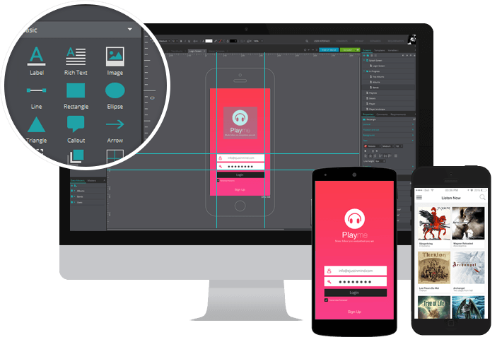 interactive wireframes tool hotgloo wireframe ux prototyping free online app design tool at beautygirl - Design Tool Free