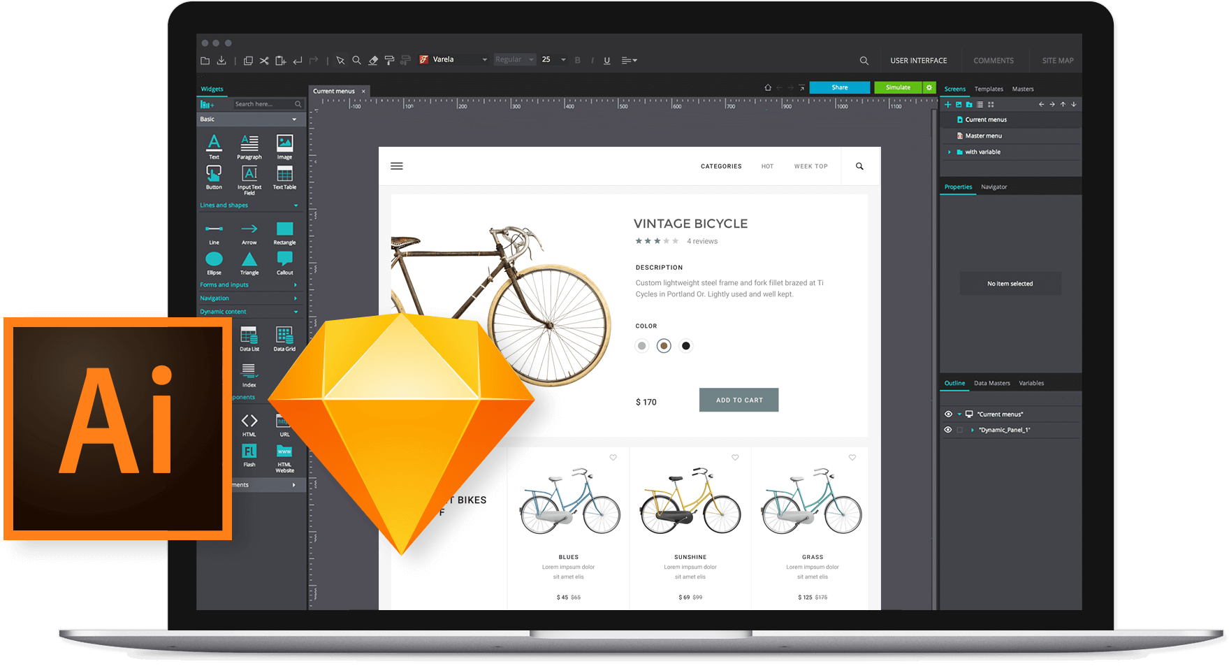 Integration with design tools