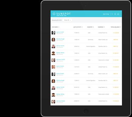 Enterprise mobile application prototype