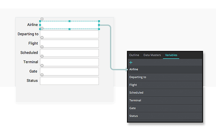 Data driven prototyping: add records to data lists with input forms