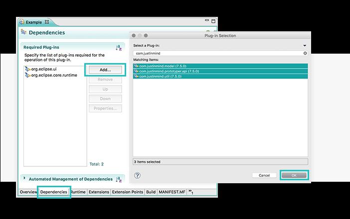 Add dependencies