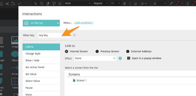 select trigger on focus pdf forms