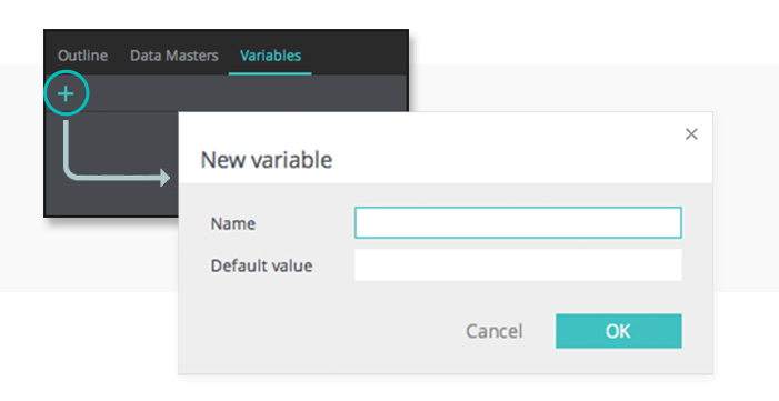 Create a new variable in your UI prototype