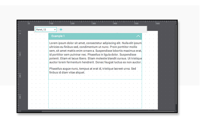 Expand and collapse content in web or app prototypes - Dynamic panels2