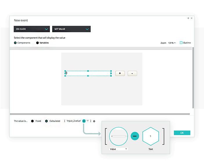 Input decremental value in your prototypes
