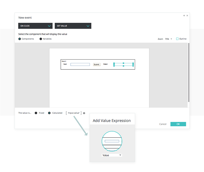 Multi-submit forms in your UI prototypes: events