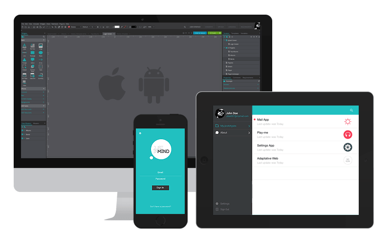 IOS - Android prototyping