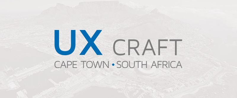 Let's make UX grow in South Africa!