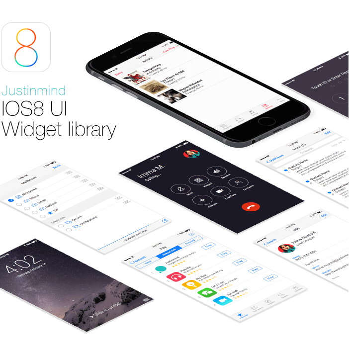 iOS8-ui-widget-library