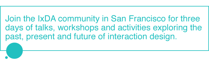 IxDA Community - San Francisco