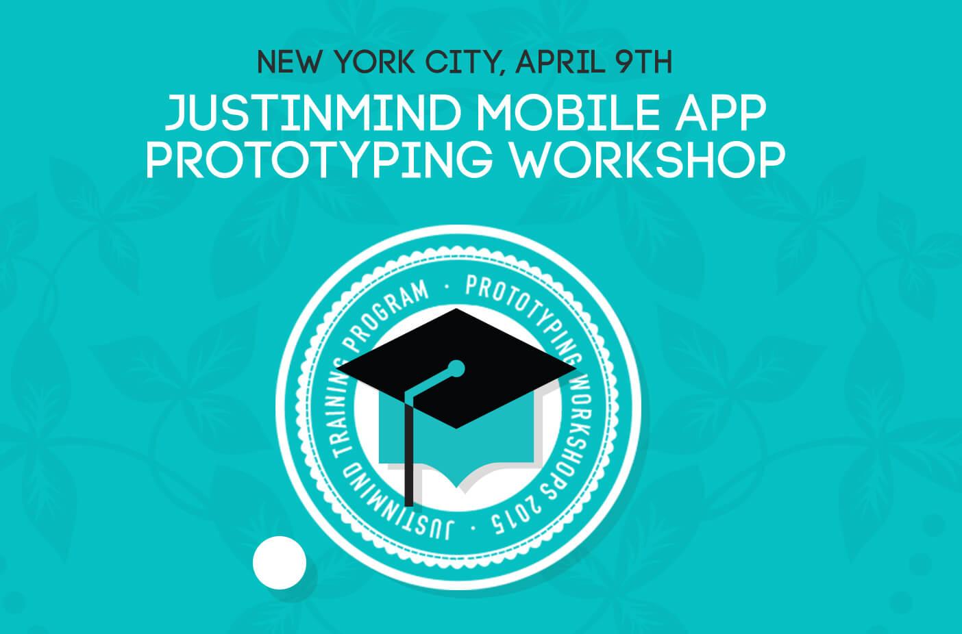 NYC Workshop: mobile app prototypes with Justinmind