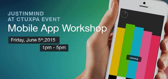 Justinmind at ctuxpa-event-mobile-app-workshop