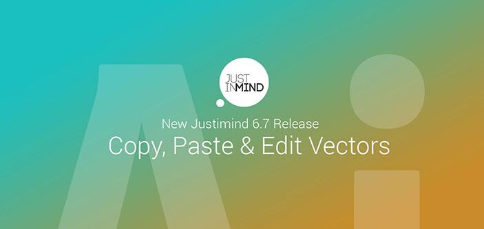 Justinmind v6.7: Illustrator Integration and text widgets improvements