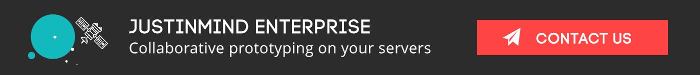 Justinmind Enterprise Banner