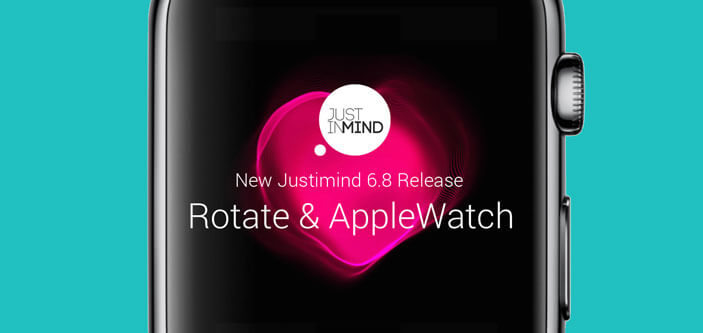 Justinmind v6.8: 'Rotate' action and Apple Watch widget library