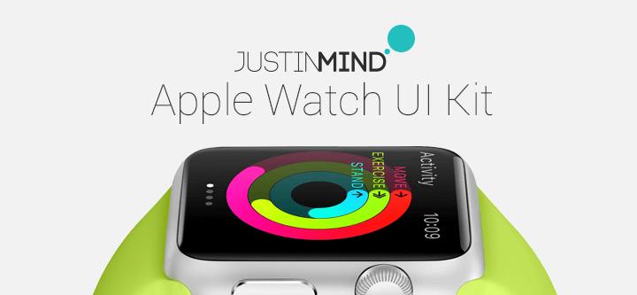 Apple Watch UI Kit: prototype smarter apps with Justinmind