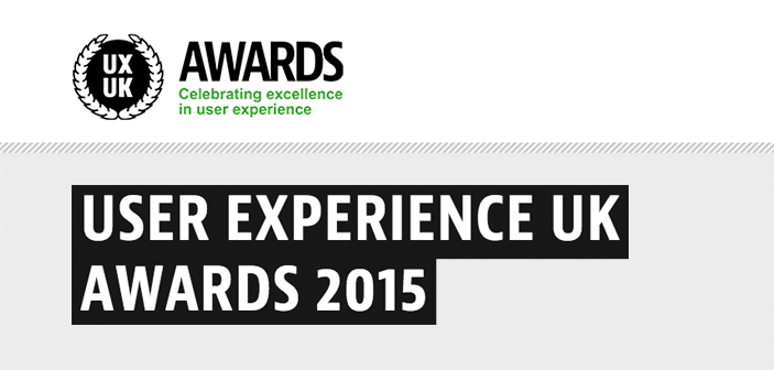 Justinmind at the User Experience UK Awards 2015
