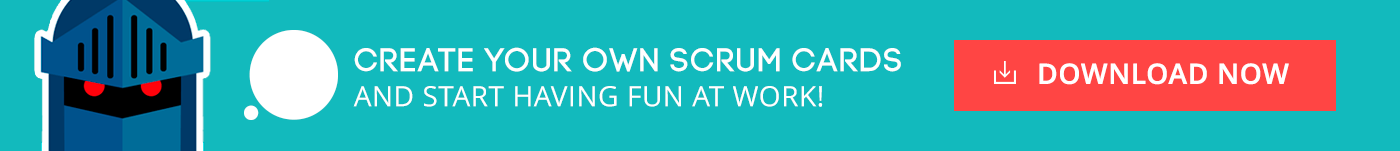 Scrum poker cards templates