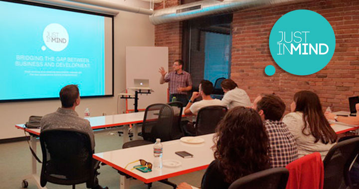 UX Prototyping workshop with Justinmind and Onespring
