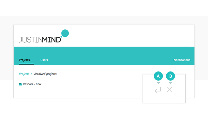 Archive prototyping project in your online account