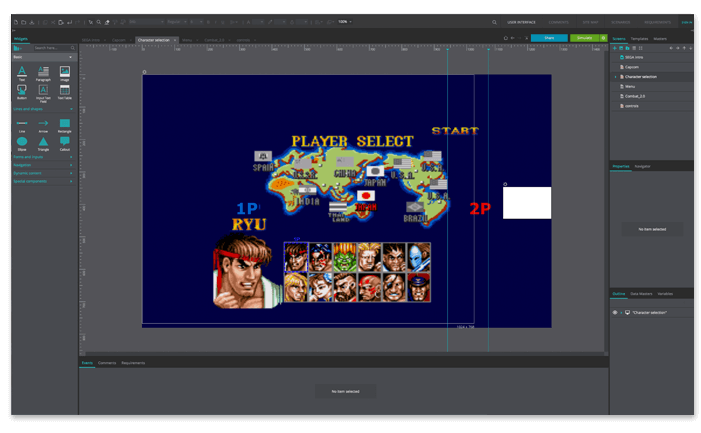 Streetfighter-game-manual-testing