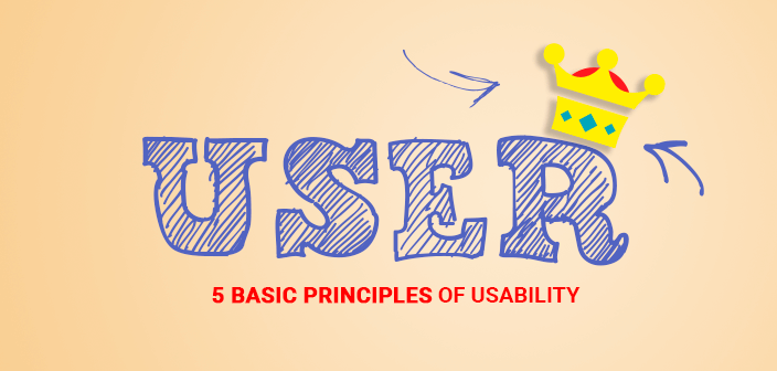 5 Usability Principles to Improve User Experience