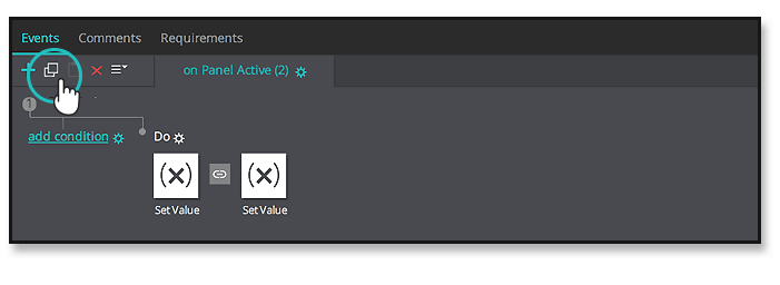 interactive-prototype-dynamic-forms-events