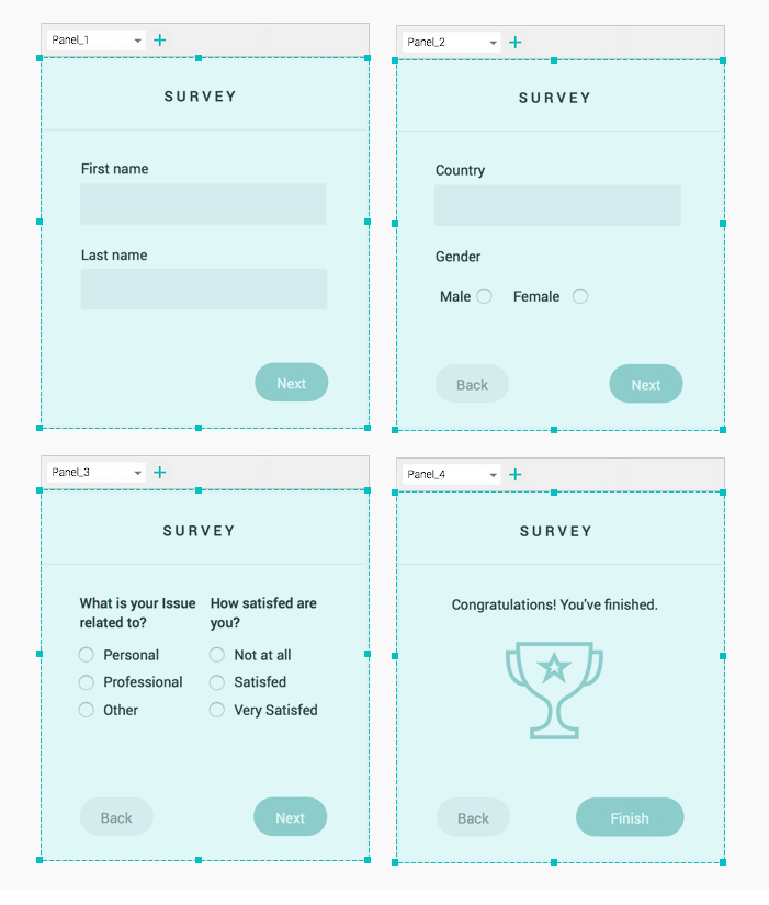 interactive-prototype-dynamic-forms