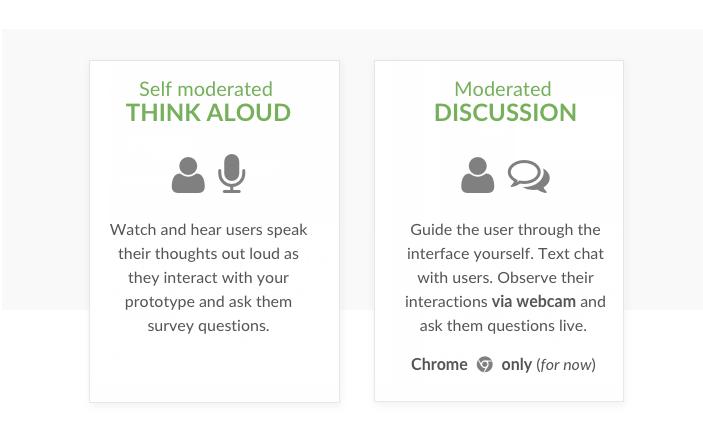 Validately-options-user-testing