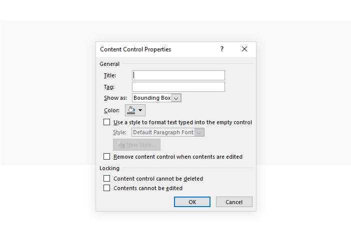 Create document templates for Microsoft Word with Justinmind