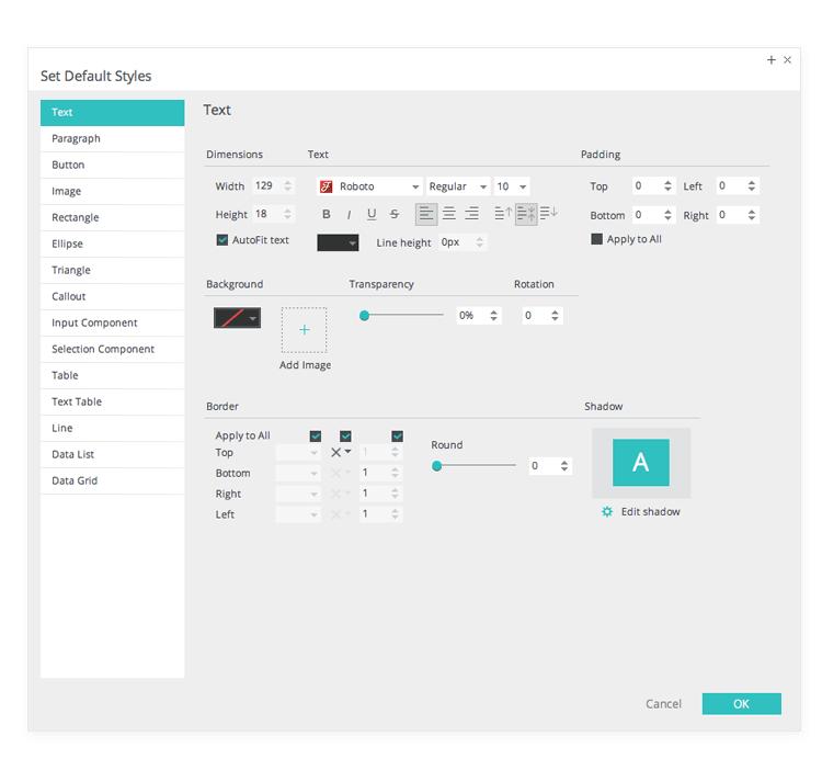 set-default-styles-in-web-mobile-prototypes
