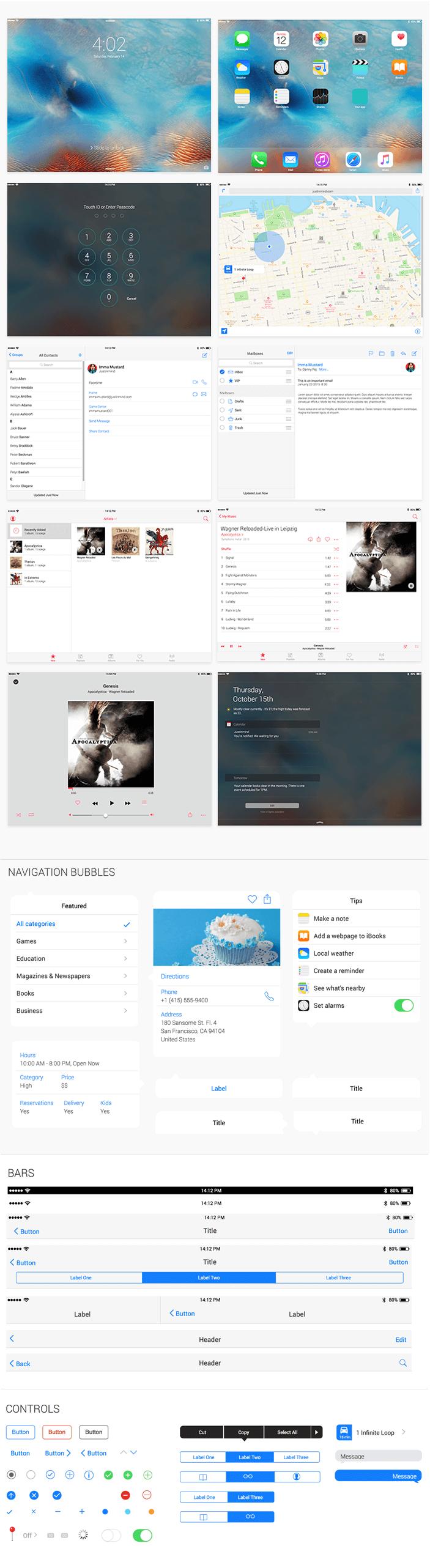 iPad-ui-kit-justinmind-new-release-2