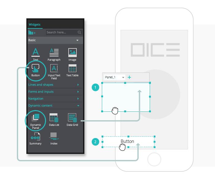 interactive-prototypes-random-content-UI-assets