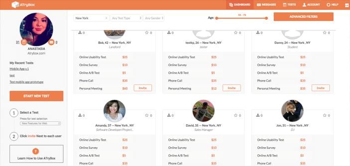 atrybox-user-testing-user-profile