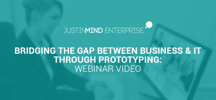 Bridging the gap between business and IT through prototyping – video