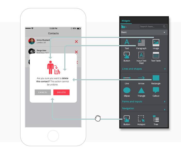 3-mobile-wireframe-confirmation-pop-up-menu