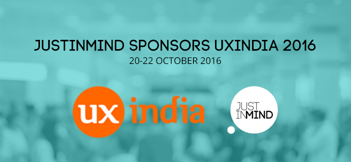 Justinmind sponsors UXIndia 2016 in Hyderabad