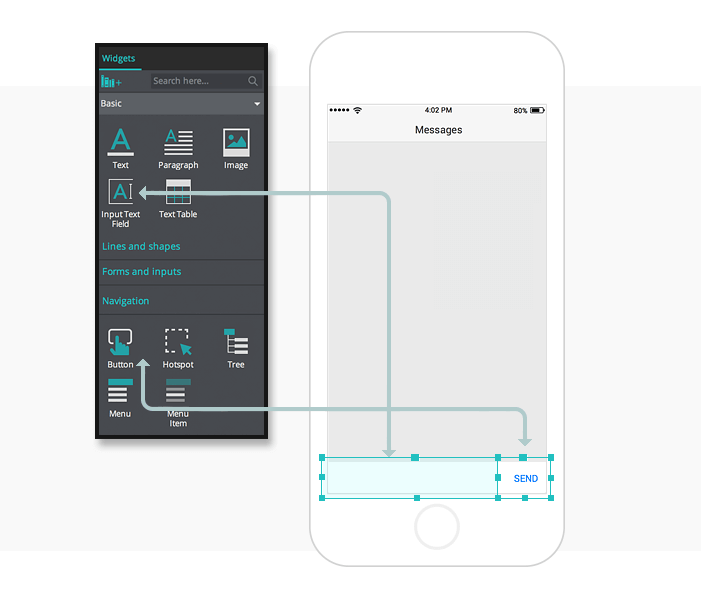 1-create-and-simulate-a-chat-app-in-your-mobile-prototypes