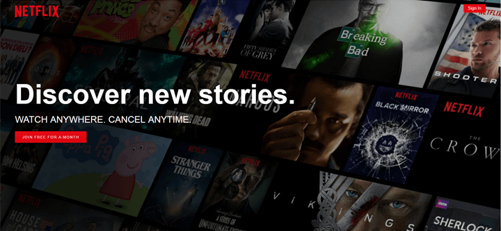 netflix-landing-page-onboarding-examples
