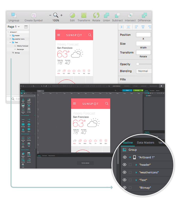 sketch-prototyping-justinmind-sketch-export