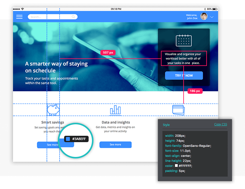 designer-developer-collaboration-justinmind-8.0-prototyping-tool-interface
