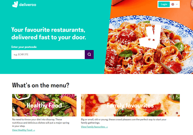 ux-landing-page-examples-deliveroo