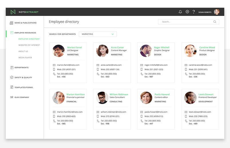 office-fabric-ui-employee-directory-screen