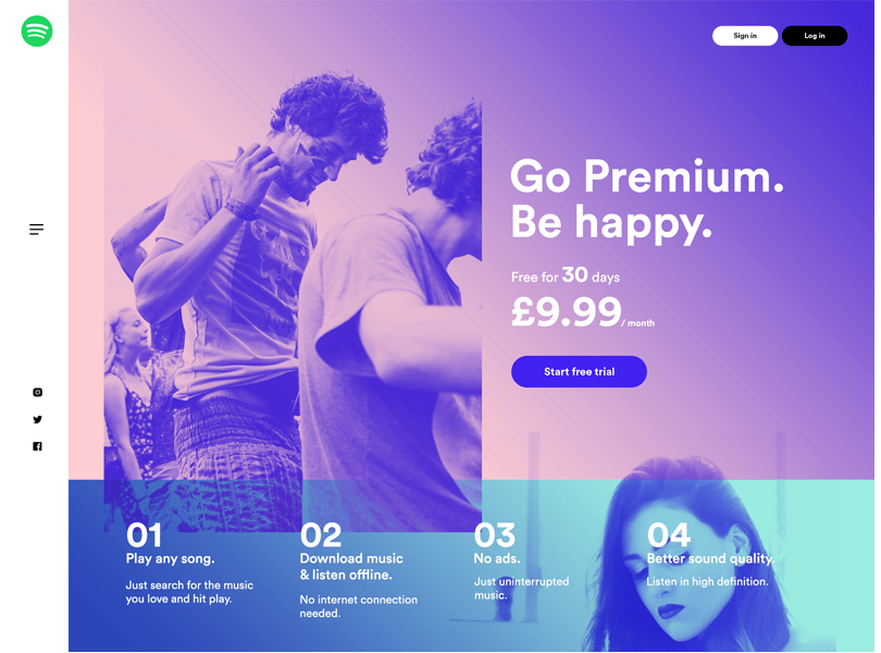 spotify-landing-page-web-wireframe