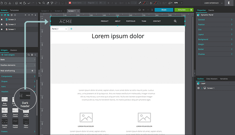 prototyping your parallax design with justinmind