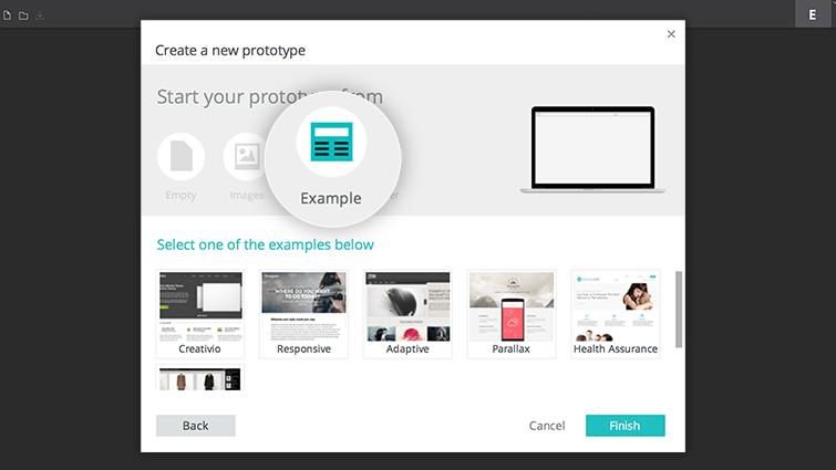 create prototype example