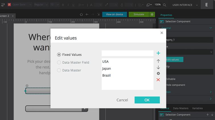fixed values
