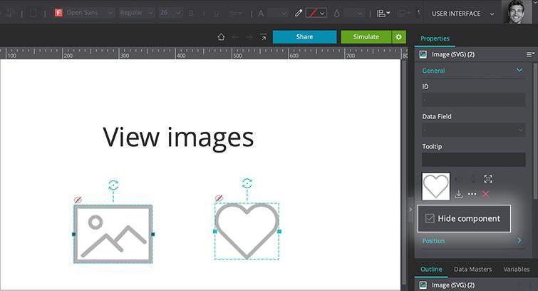 hide images